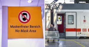 Noktara - Deutsche Bahn richtet Bereich für Maskenverweigerer ein