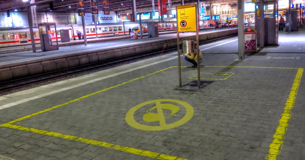 Noktara - Deutsche Bahn richtet Bereich für Maskenverweigerer ein - Maskenfreier Bereich