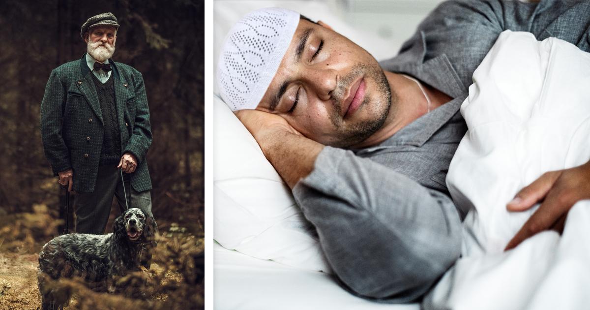 Noktara - Deutscher geht mit Hund Gassi, während Muslim Morgengebet verschläft