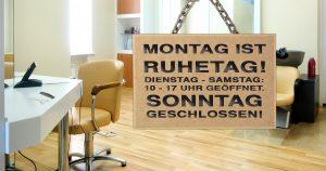 Noktara - Deutscher geht's nicht- Friseur öffnet wegen Ruhetag trotz Lockdown erst am Dienstag