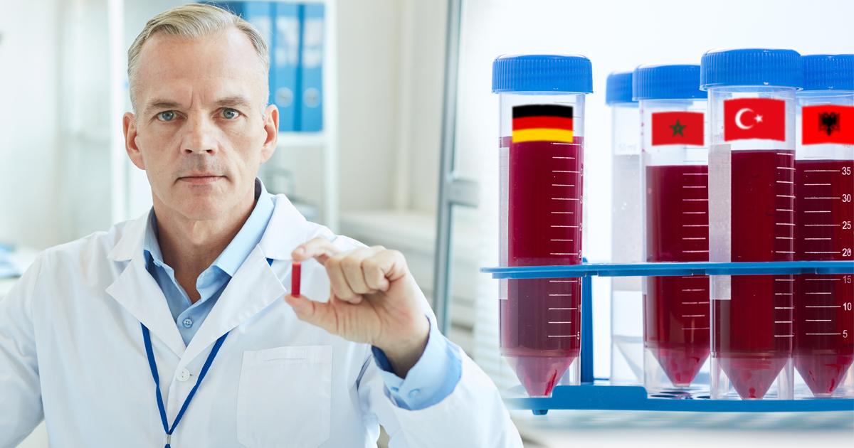 Noktara - Deutsches Blut- Wissenschaftler finden keinen Unterschied zu ausländischem Blut