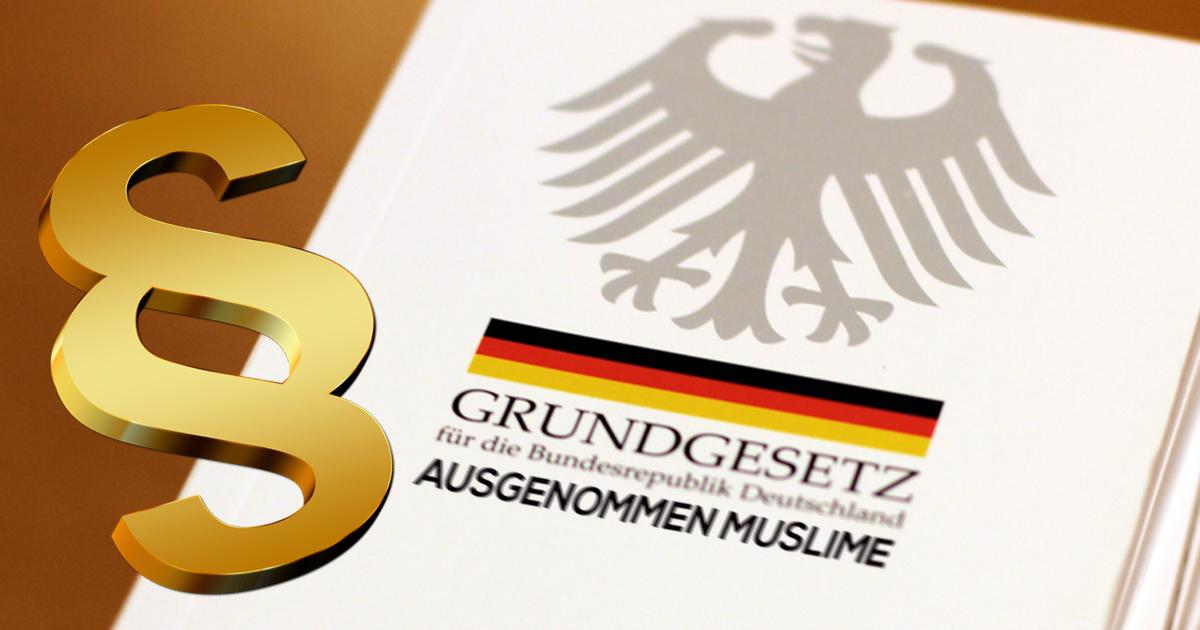 Verfassungsänderung: Deutschland hebt Grundrechte für Muslime auf