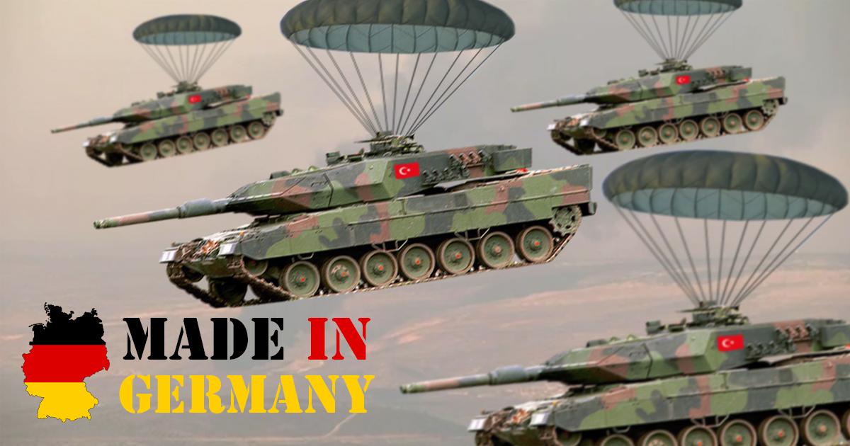 Deutschland liefert türkische Leopard-Panzer direkt nach Syrien
