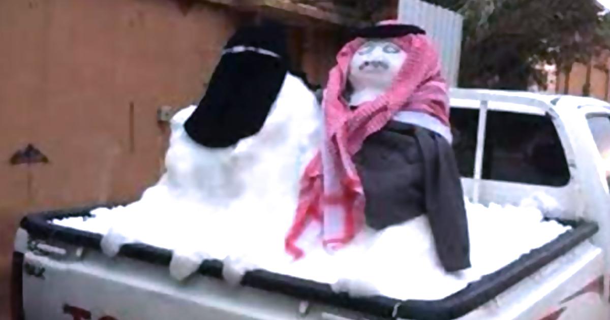Die 7 besten islamischen Schneemänner - Niqab
