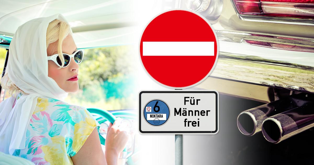 Dieselgipfel: Deutschland erlässt Fahrverbot für Frauen