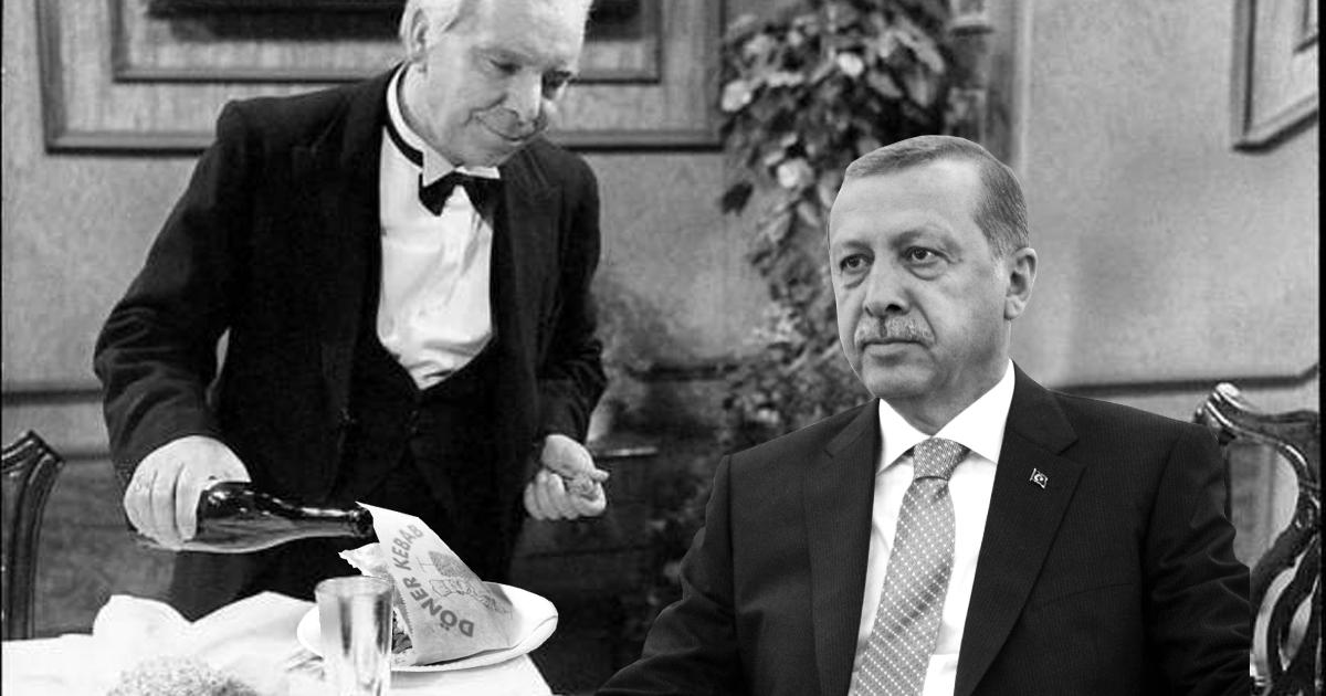 Döner for One: Erdogan feiert alleine Neujahr