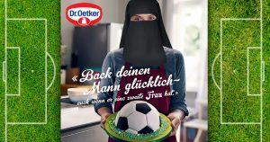 Noktara - Dr. Oetker empört mit verschleiertem Frauenbild