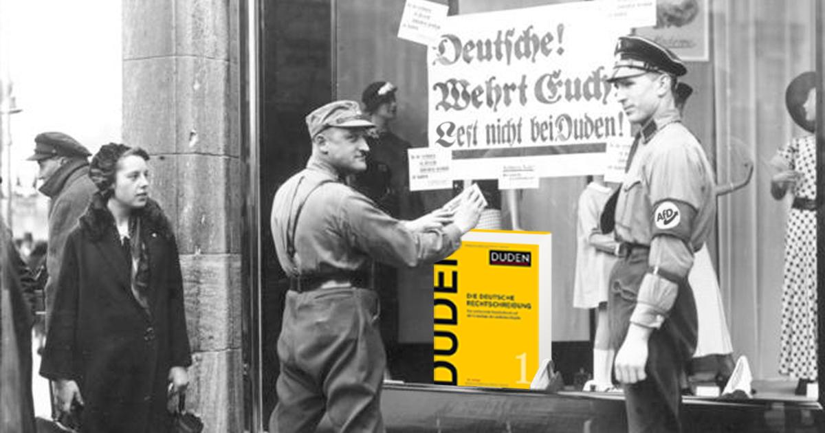 Noktara - Dudenfeindlichkeit- AfD ruft zu Boykott gegen Duden auf