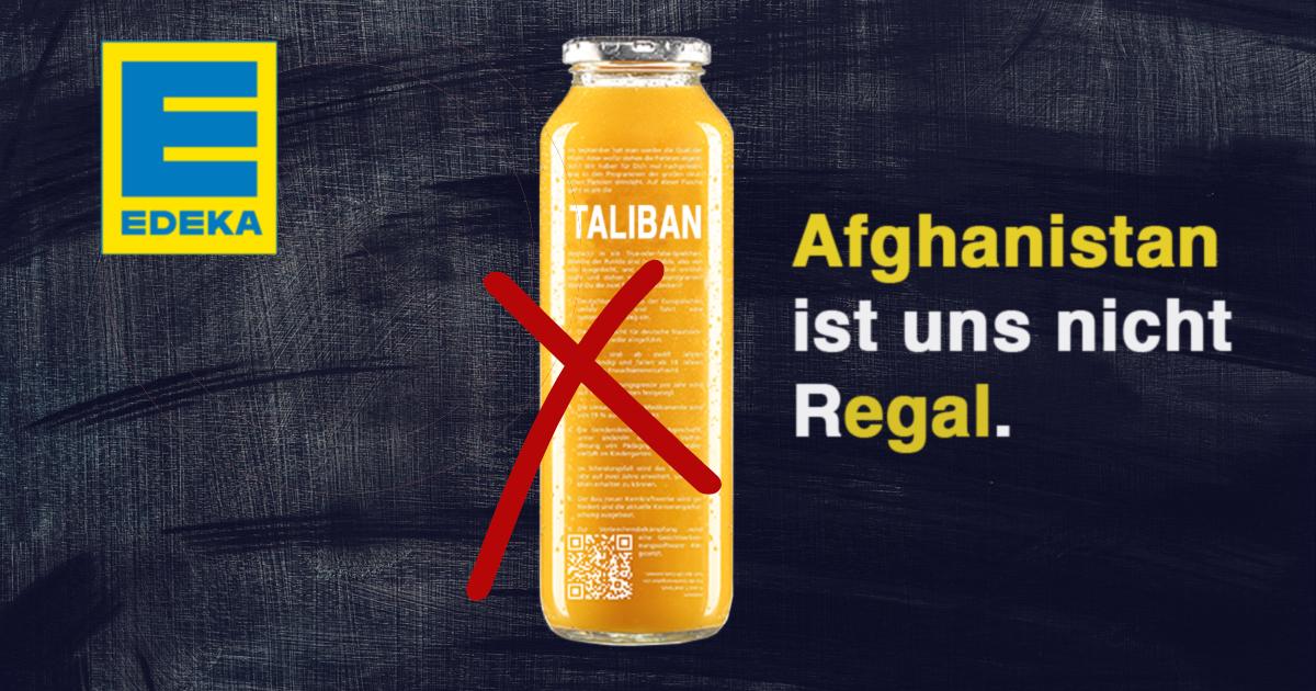 Noktara - EDEKA wirft Taliban-Flaschen von True Fruits raus