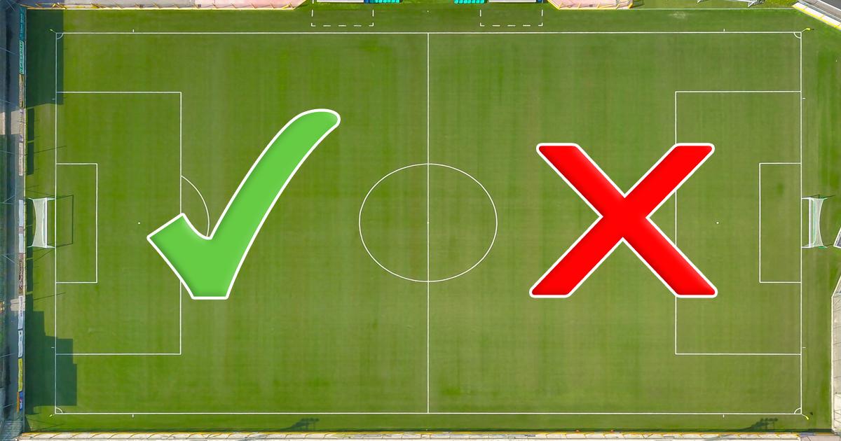 Noktara - EM 2021- Diese Corona-Regeln gelten während der Fußballmeisterschaft- Spielfeldhälfte