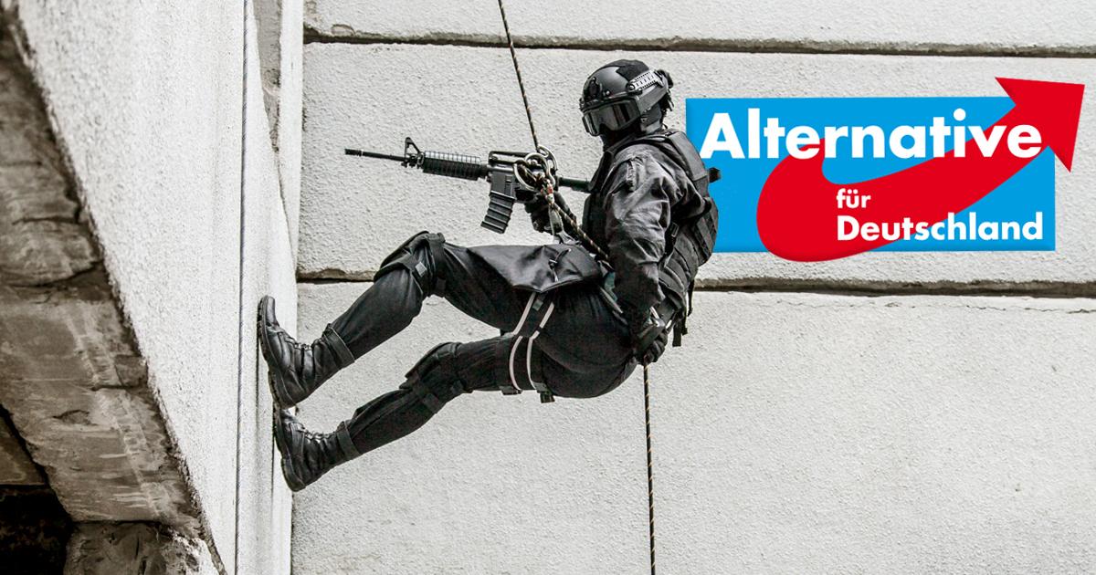 Noktara - Eilmeldung - Verfassungsschutz stürmt AfD-Zentrale