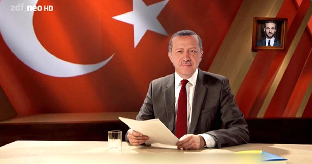 Einigung: Erdogan darf Schmähgedicht über Jan Böhmermann vortragen
