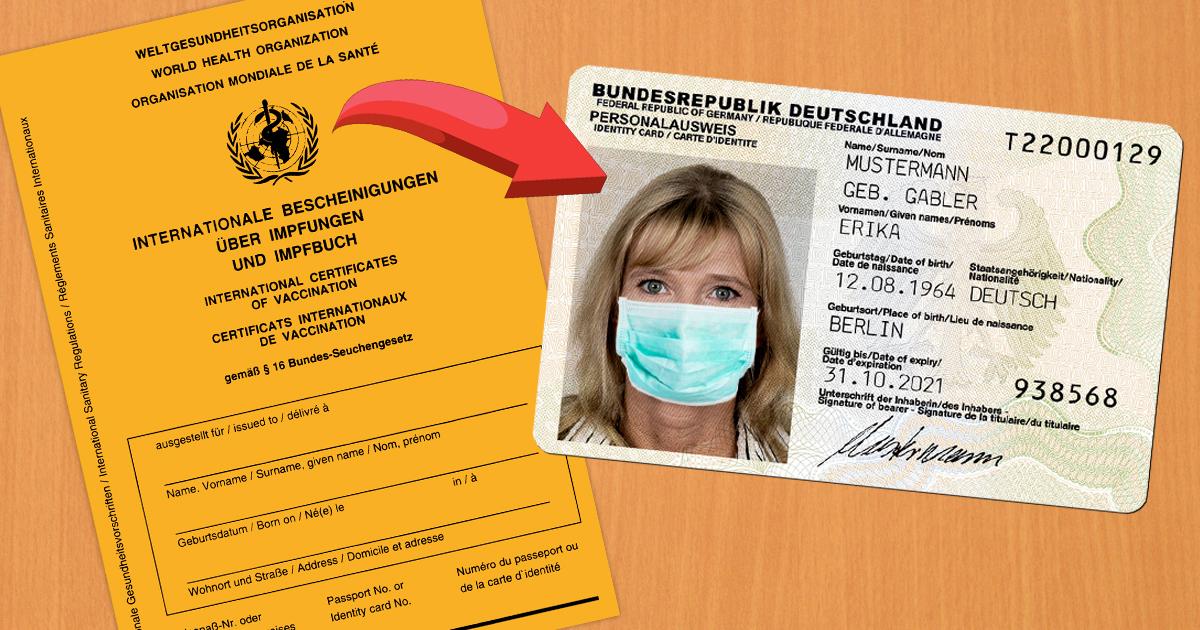 Noktara - Elektronischer Impfpass wird in neuen Personalausweis integriert
