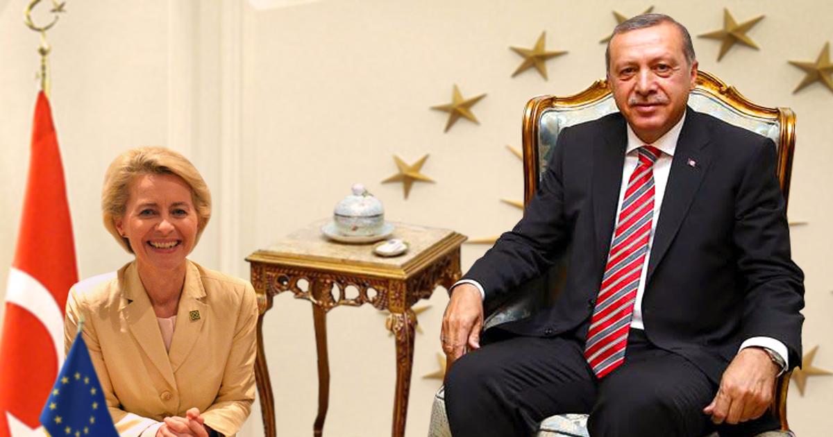 Noktara - Erdogan erntet Kritik, weil Von der Leyen auf dem Boden sitzen musste