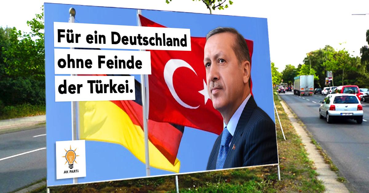 Erdogan tritt als Spitzenkandidat für die Bundestagswahl an
