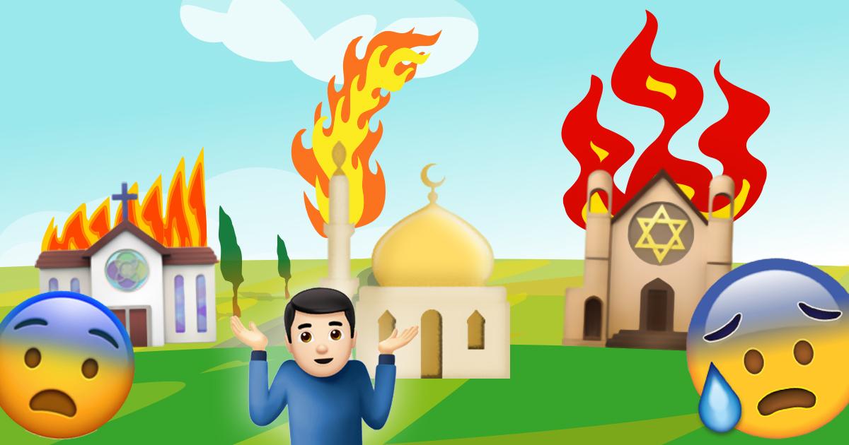 Erleichterung: Brennendes Gebetshaus war nur eine Moschee