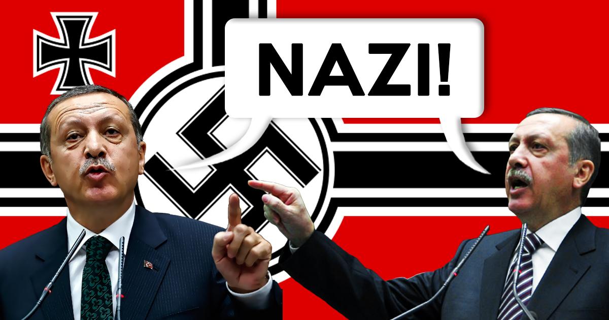 Eskalation: Erdogan nennt Erdogan einen Nazi!