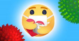 Noktara - Facebook führt wegen Coronavirus neue Emoji-Reaction ein