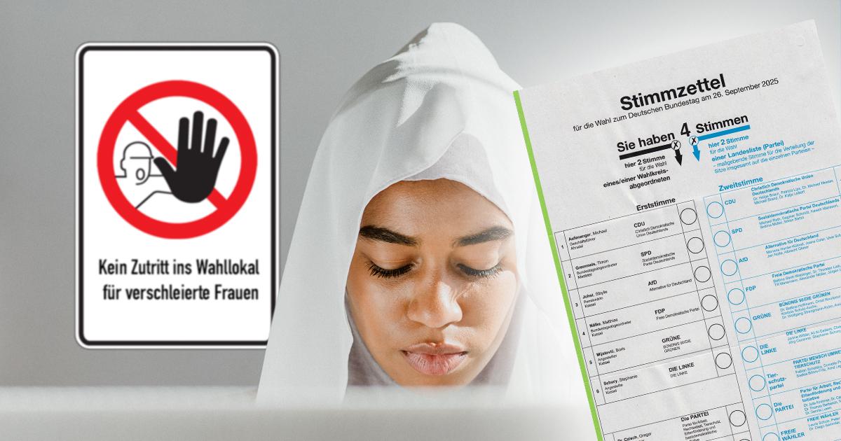 Noktara - Fälschlicherweise von Wahl ausgeschlossene Muslima bekommt als Entschuldigung doppeltes Stimmrecht für die nächste Wahl