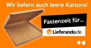 Noktara - Fastender bestellt bei Lieferando leeren Pizzakarton