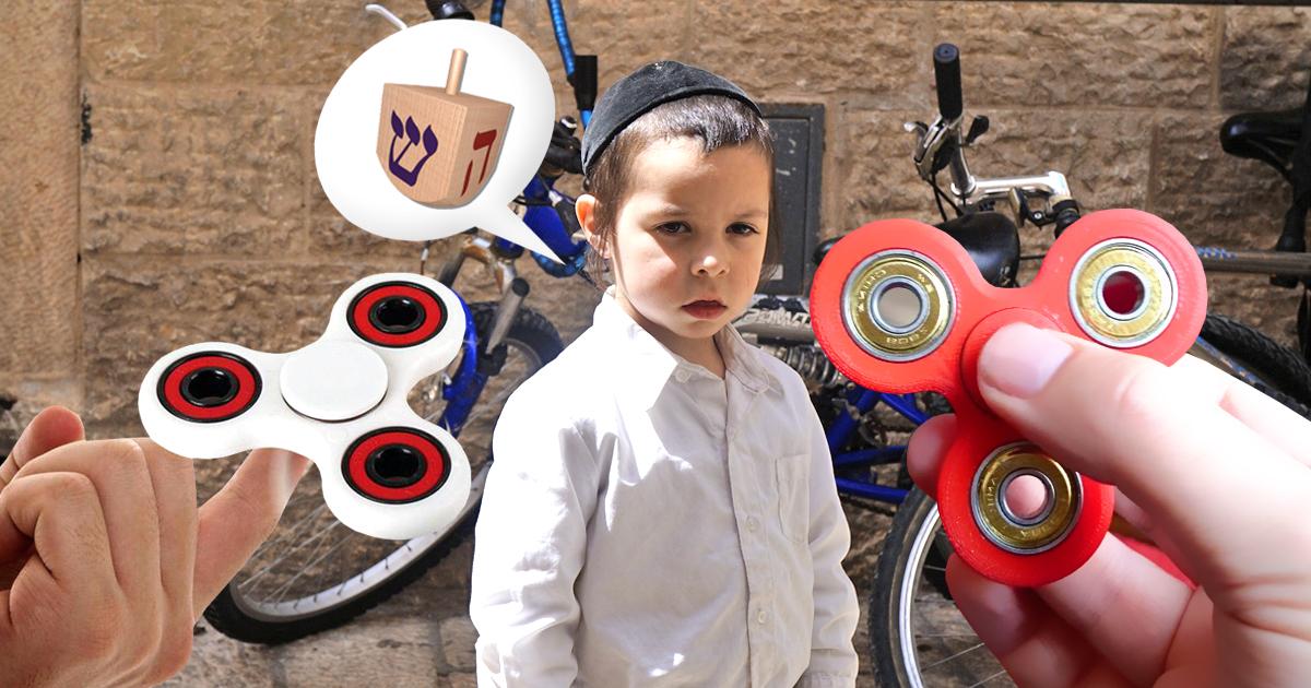 Fidget Spinner: Jüdisches Kind wegen Dreidel gemobbt
