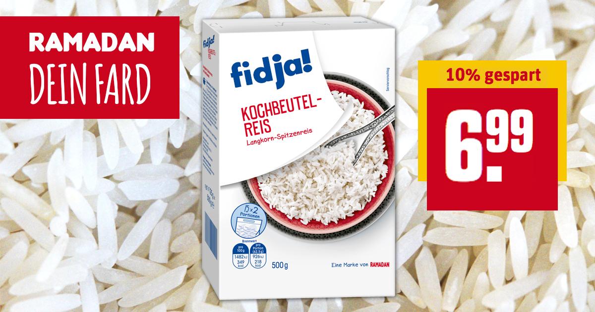 Fidja: Ramadan-Ersatz für das Fasten beim REWE