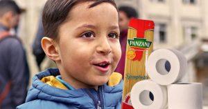 Noktara - Flüchtlinge bringen Toilettenpapier und Nudeln mit, um willkommen zu sein