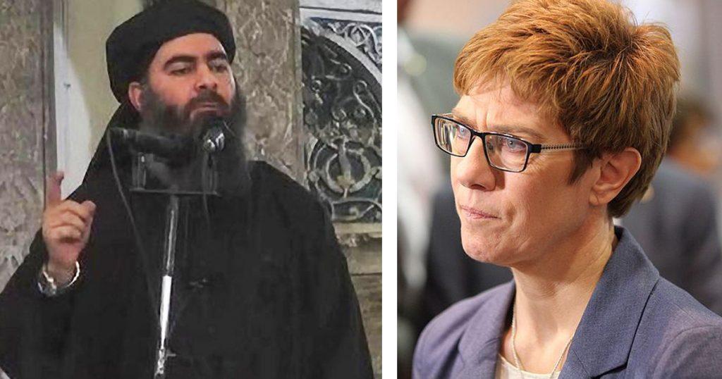 Noktara - Forsa-Umfrage - Annegret Kramp-Karrenbauer noch unbeliebter als der IS