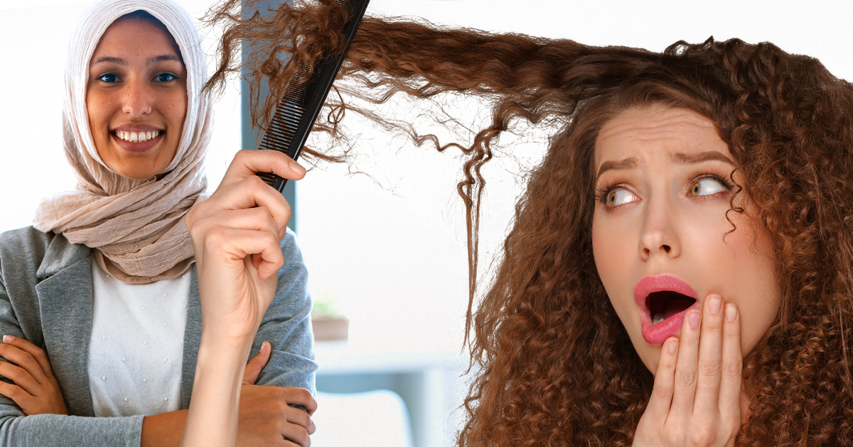 Noktara - Friseure geschlossen - Alternative - Während dem Lockdown einfach Kopftuch tragen