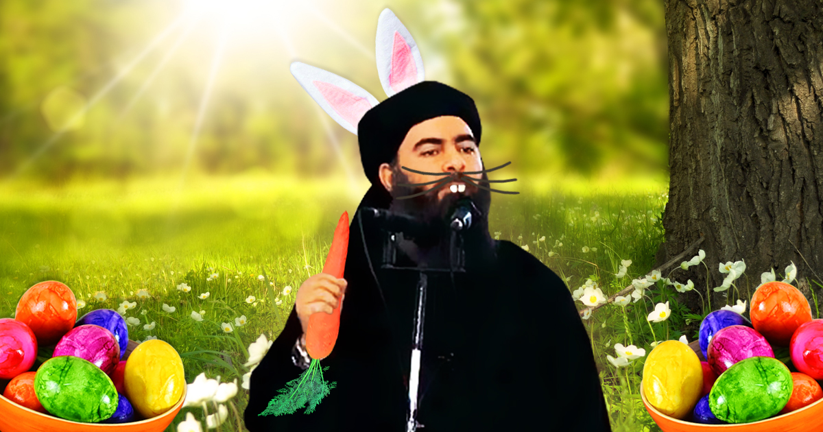 Abu Bakr al-Baghdadis bunte Ostereier.