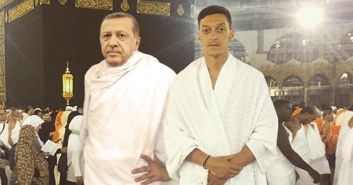 Noktara - Gemeinsame Hadsch - Mesut Özil postet Erdogan-Foto aus Mekka