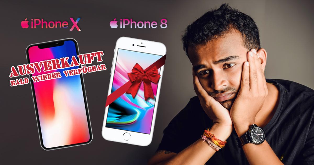 Geschenkt: Flüchtling enttäuscht nur ein iPhone 8 zu bekommen