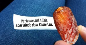 Noktara - Glücksdatteln mit islamischen Weisheiten und Hadithen - Taqwa