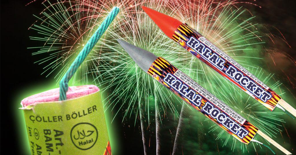 Noktara - Halal-Feuerwerk - Pyrotechnik-Hersteller verkauft islamkonforme Böller