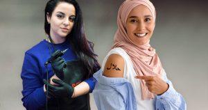 Noktara - Halal Tattoo- Erstes Studio sticht Muslimen islamische Motive