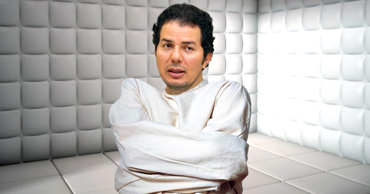 Hamed Abdel-Samad endgültig übergeschnappt und in Klappse eingewiesen
