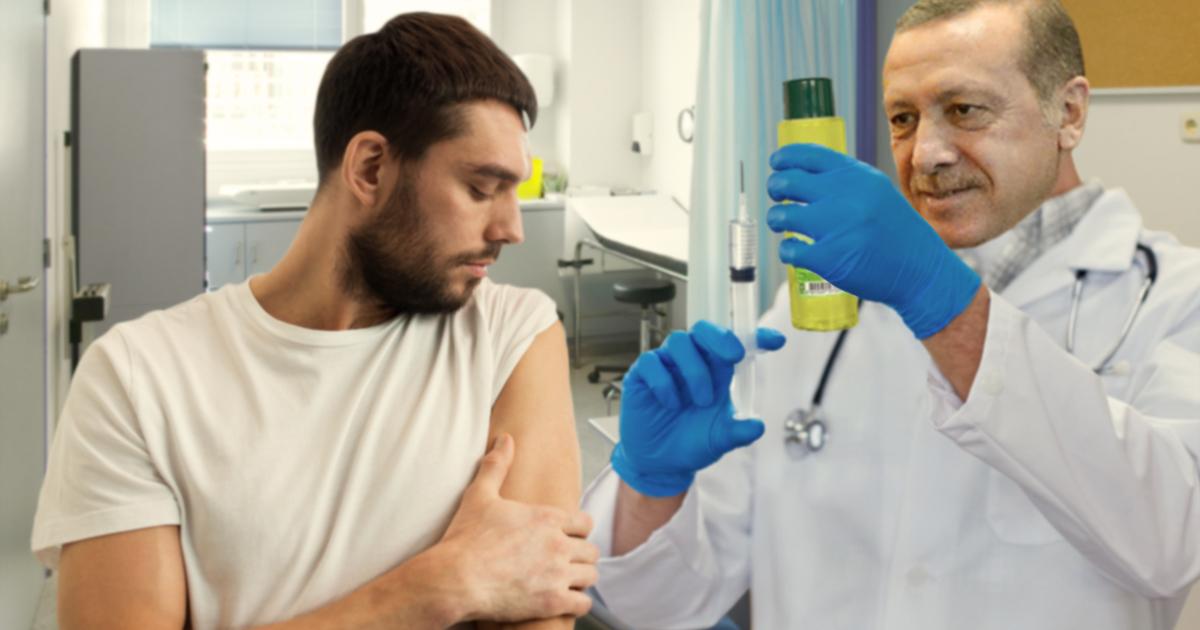 Noktara - Heilen wie Trump - Erdogan testet Kolonya als Impfstoff gegen Coronavirus