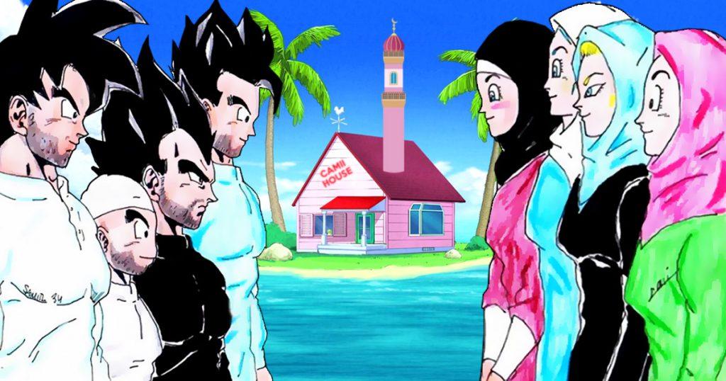 Noktara - Herr der Schildkröten gründet Moschee für Son Goku und seine Freunde - DragonMuslimZ