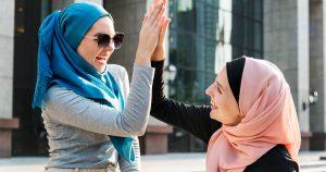 Noktara - High Five - Muslime feiern erfolgreiche Islamisierung des Abendlandes