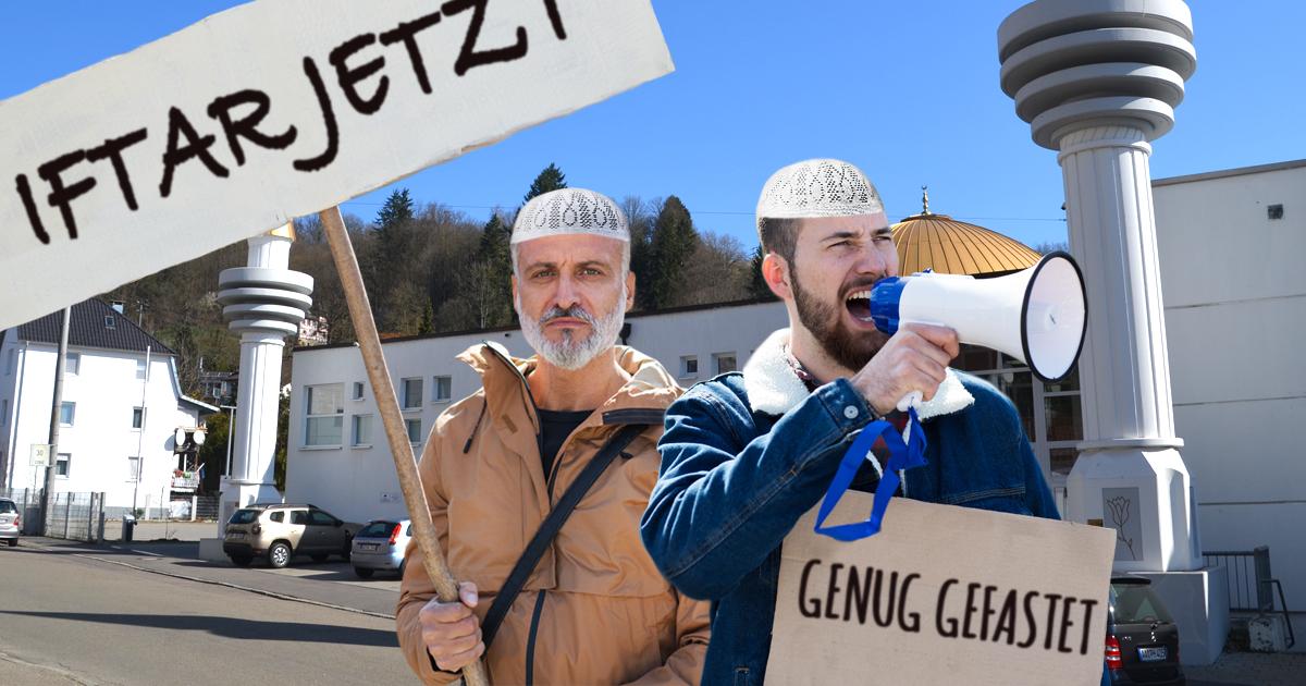 Noktara - Hungerstreik- Imame protestieren für kürzere Fastenzeiten im Ramadan