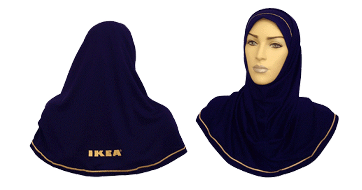 IKEA-Moschee: Vom Möbelhaus zum Gebetshaus - IKEA-Kopftuch