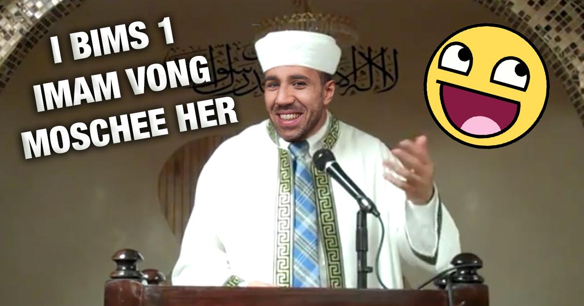 Imam hält Predigt in VONG-Sprache, damit ihn Jugendliche verstehen