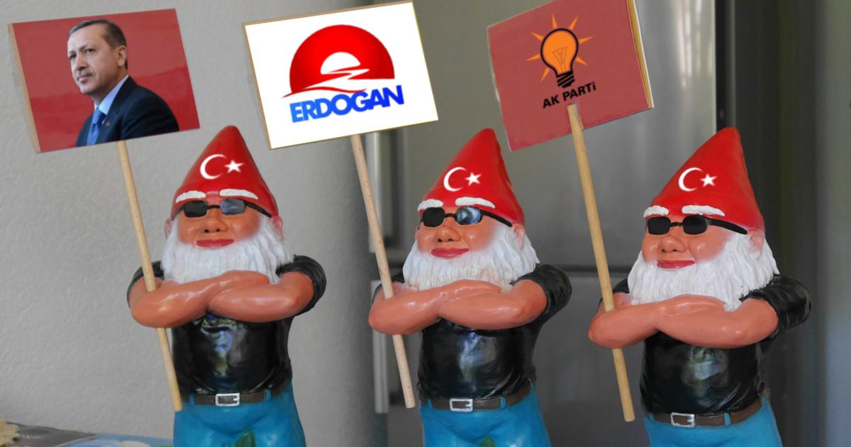 Noktara - Immer mehr muslimische Gartenzwerge erobern Deutschland - Türkische AKP Gartenzwerge