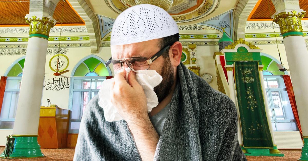 Noktara - Influenza - Muslim geht mit Grippe zur Moschee, um für seine Gesundheit zu beten
