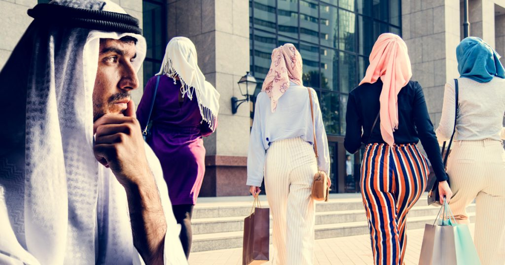 Noktara - Insolvenz - Ölscheich geht mit 4 Frauen shoppen und ist danach total pleite