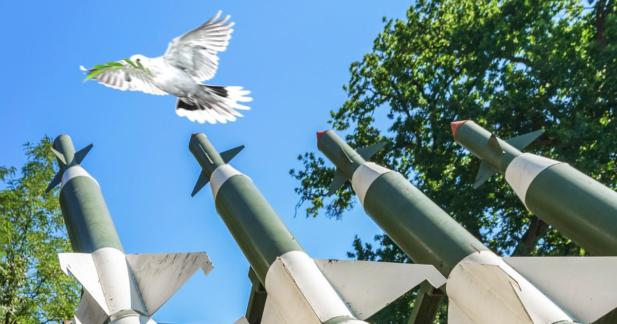 Noktara - Israel- Letzte Friedenstaube durch Rakete abgeschossen
