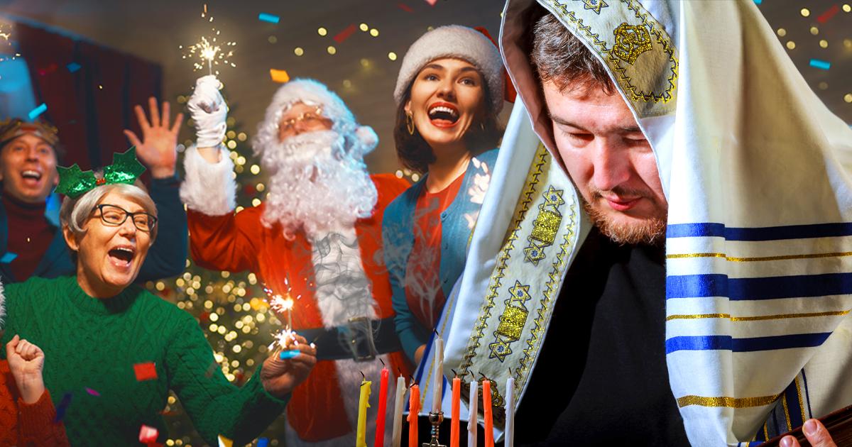 Noktara - Juden verzichten auf Chanukka, damit Weihnachten und Silvester gefeiert werden kann