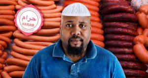 Noktara - Juhu - Muslimischer Kunde gewinnt Jahresvorrat an Schweinefleisch