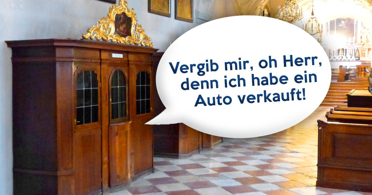 Noktara - Katholischer Gebrauchtwagenhändler geht nach jedem Verkauf zur Beichte