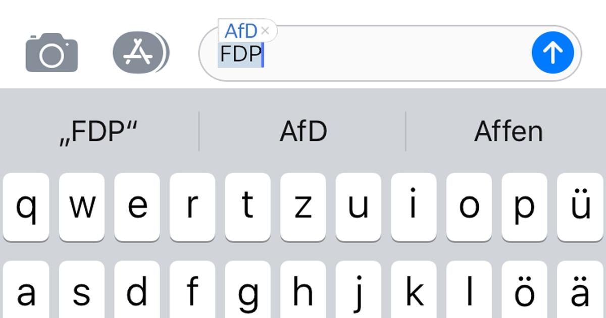 Noktara - Kemmerich-Update - Autokorrektur ersetzt FDP durch AfD